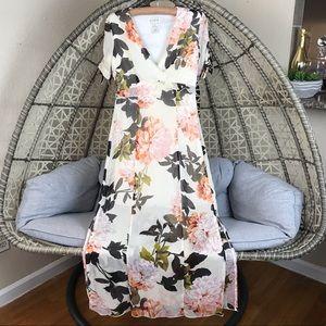 Enfocus Studio Floral Maxi Dress